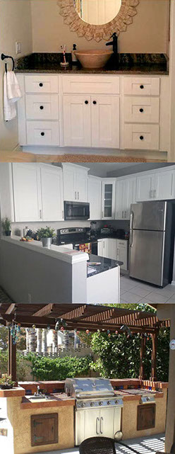 Custom stone and granite counter tops for kitchens, bathrooms and outdoor kitchens. Tampa, Florida